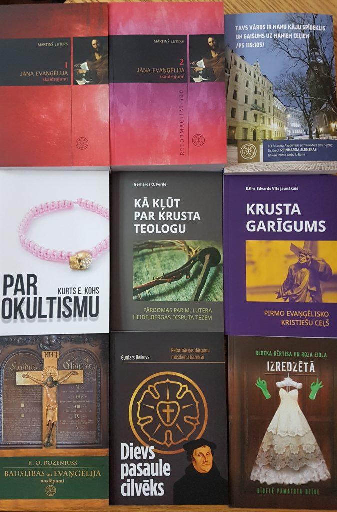 Fonda 2017. gadā izdotās grāmatas